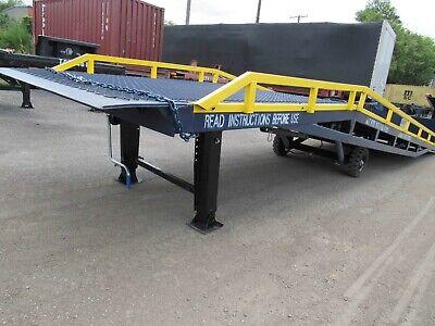 Used Yard Ramp Forklift Ramp Trailer Loading Dock - 24000 Lbs 90 Wide