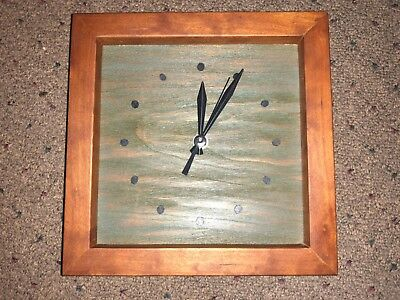 """Sabbath Day Woods- """"The Box Clock""""- Beautiful , used for sale  Smithville"""
