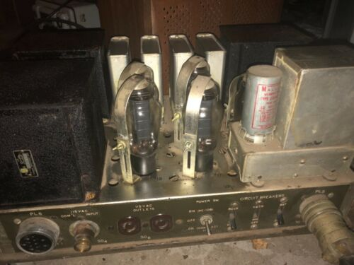 Massive Vintage Halicrafters Wartime Tube Power Supply