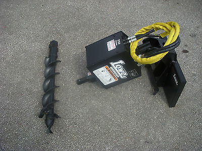 Toro Dingo Mini Skid Steer Attachment Lowe 750 Auger Drive 6 Bit - Ship 199