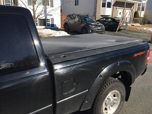 Ford Ranger Tonneau Cover Low Profile Roll Up