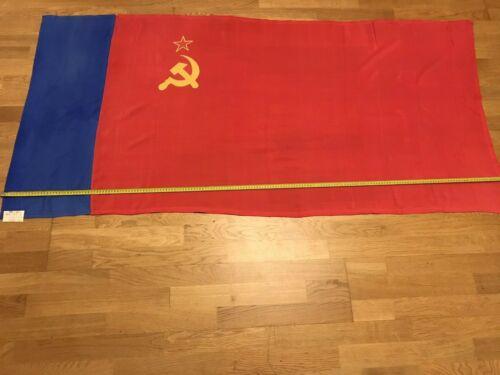 Authentic Big Flag of Russia Russian Soviet Socialist Republic USSR Vintage