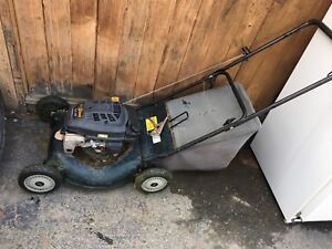 Old lawn mower
