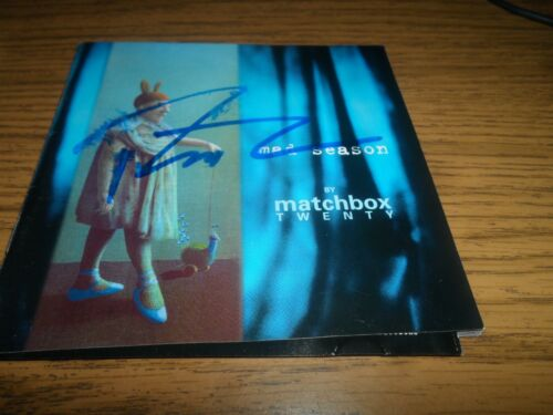 ROB THOMAS signed autographed MAD SEASON cd (MATCHBOX 20)