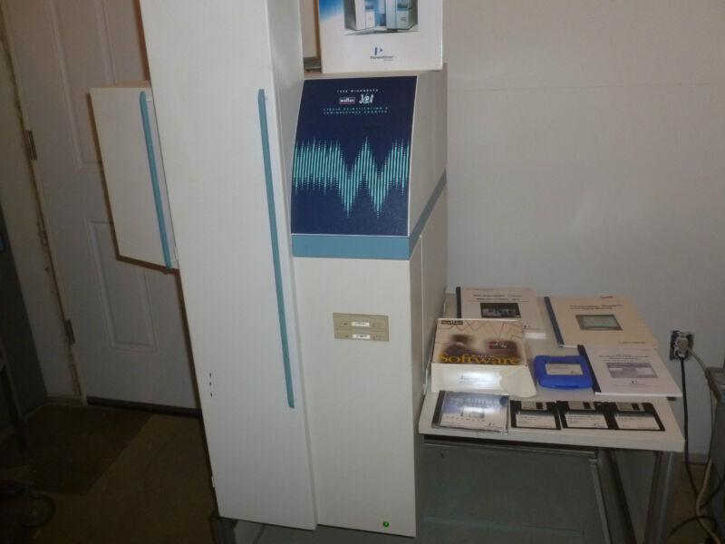 Perkin Elmer Microbeta Jet Liquid Scintillation & Luminescence Counter 1450-027