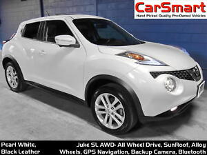 2016 Nissan Juke SL, Leather, Sunroof, Nav, 360° Top-View Camera