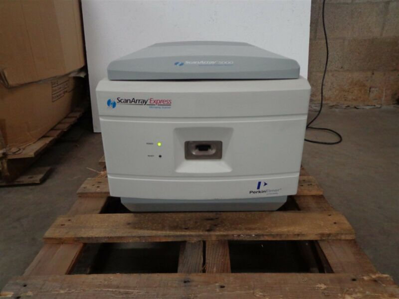 Perkin Elmer ScanArray Express MicroArray Scanner 5000 P/N: 900-3011523001