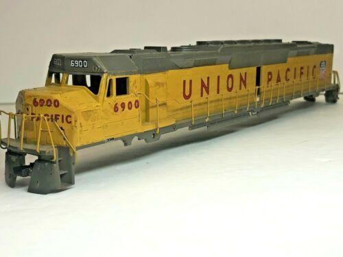 Union Pacific DD40 Shell Yellow Rails HO $4 Ship