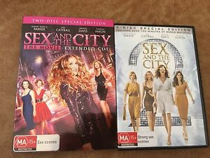 Sex and The City DVD. 1 & 2. Port Kennedy Rockingham Area Preview