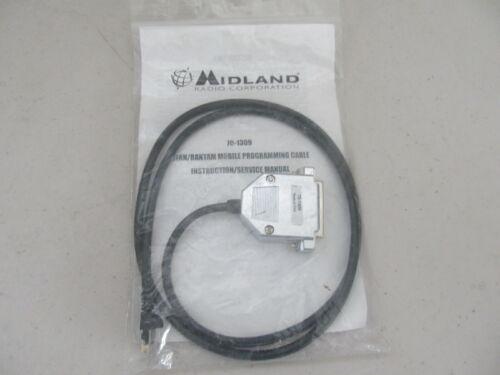 Midland Titan / Bantam VHF / UHF Radio Programming Cable 70-1309 NEW