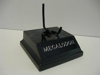 MEGALODON SHARK TOOTH DISPLAY STAND 3 1/4