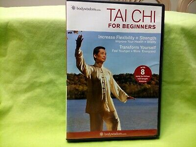 TAI CHI FOR BEGINNERS BODY WISDOM MEDIA DVD