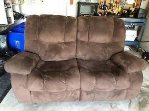 Double couch recliner