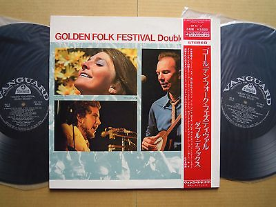 BOB DYLAN V.A. GOLDEN FOLK FESTIVAL / 2LP WITH OBI