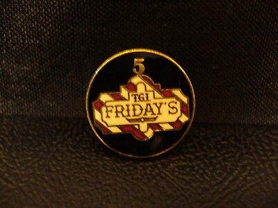 TGI Friday's Pin > Five Years Service