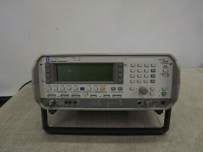 Wandel Goltermann Spm-38 Selective Level Meters Range 50 Hz - 18 Mhz