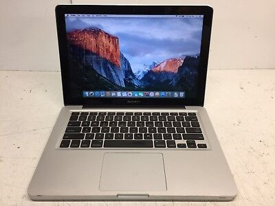 "Apple MacBook Pro A1278 13.3"" El Capitan Mid 2009 160GB HD 4GB Ram C2D 2.26GHz"