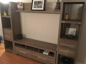 Glendale 4-Piece TV Unit and Coffee Table