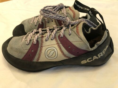 SCARPA Rock Climbing Shoes 6.5 / 37.5 EUR - Made in Italy - Same Day Shipping!