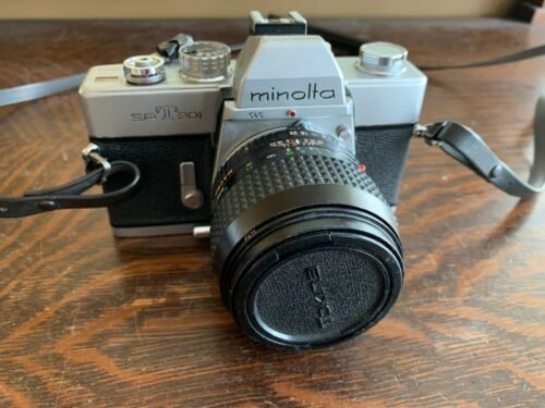 Minolta SRT201 35mm SLR Film Camera w/ 50mm lens