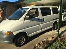2000 Toyota Hiace Van SBV Rare 5 Seater $4,600. Open to offers. Modbury Heights Tea Tree Gully Area Preview