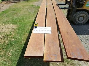 Hardwood Ironbark Boards Deception Bay Caboolture Area Preview