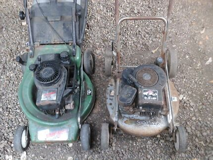 Victa lawn mowers x2 suit parts only  North Richmond Hawkesbury Area Preview