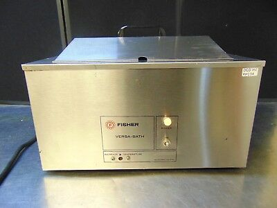 Fisher Scientific Versa Bath Model 131 Heated Water Bath Heats Up Quickly Rh134