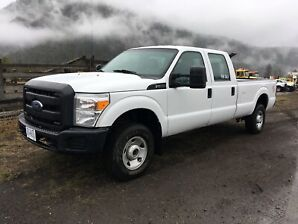 2015 Ford F350 XL 4x4 Crewcab LB
