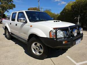 2014 Nissan Navara Dual Cab STR (4X4) Diesel Manual Wangara Wanneroo Area Preview