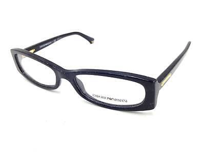 e15f8ec005  350 EMPORIO ARMANI WOMENS BLACK EYEGLASSES FRAMES GLASSES OPTICAL RX LENS  3007