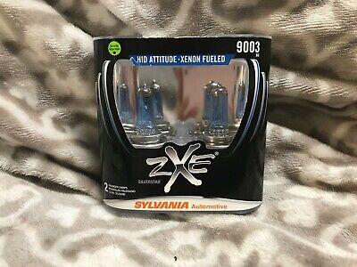 Sylvania - 9003(H4) Silverstar zXe - 2 Halogen Lamps - Xenon Fueled - NEW