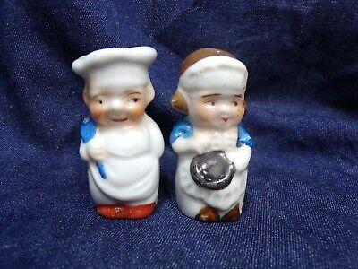 Vintage Wood Rolling Pins Salt and Pepper Shakers Deep Creek Lake Md Souvenir