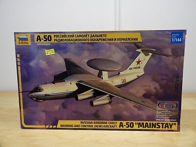 ZVEZDA A-50 MAINSTAY RUSSSIAN AIR 1:144 Scale Plastic Model Kit 7024