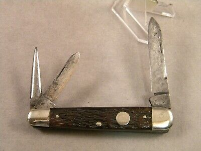 RARE ANTIQUE CATTARAUGUS CUTLERY CO. LITTLE VALLEY NY 32409 SG SLEEVEBOARD KNIFE