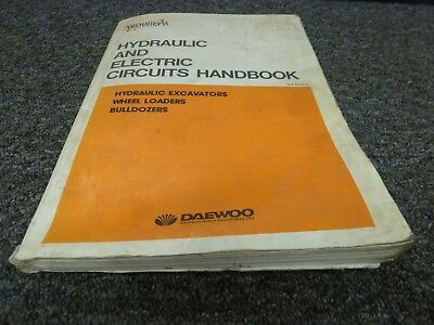 Daewoo Dd80l Bulldozer Dozer Hydraulic Electrical Wiring Diagram Manual