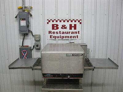 Lincoln Impinger Pizza Sub Oven W 16 Conveyor Belt Extension Trays 1301-17