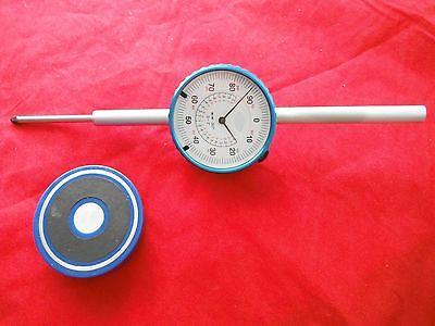 Dial Indicator 0-2 With Magnet Bridgeport Mill Edm Cnc M2026057 Milling Machine