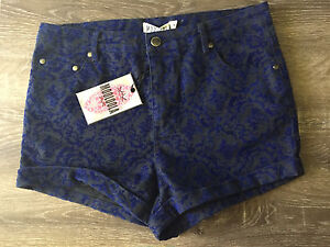Mooloola high waisted velvet shorts new with tags size 14 Alderley Brisbane North West Preview