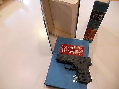 Security diversion Book Safe Gun Pistol Firearm Mens jewelry box