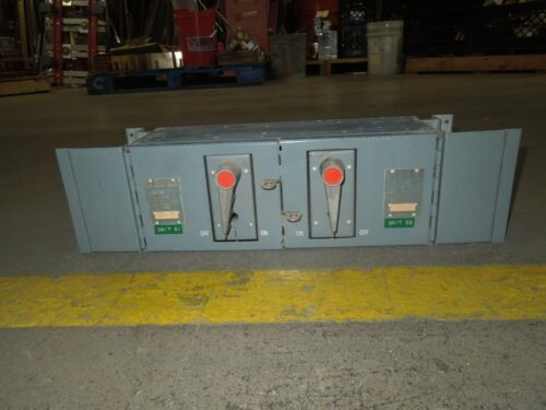 Fpe Qmqb3332 30/30a 3p 240v Twin Fusible Switch Unit Used