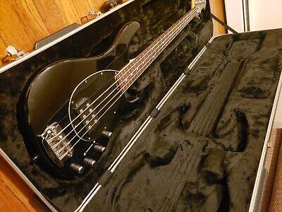 Musicman Sterling Electric Bass Guitar Black Fretboard
