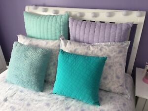 Housse de couette pour fille pottery barn (lit double)
