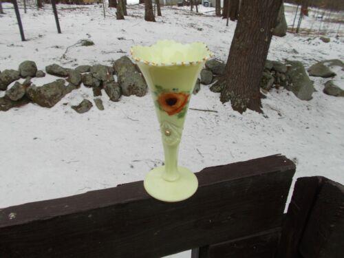 Jefferson Glass Custard Vase