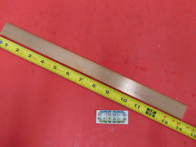 18 X 1 C110 Copper Bar 14 Long Solid Flat Mill Bus Bar Stock H02 .125x 1.00