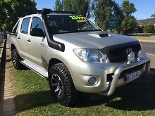 2009 Toyota Hilux Turbo Diesel duel cab 4x4 Ute Invermay Launceston Area Preview