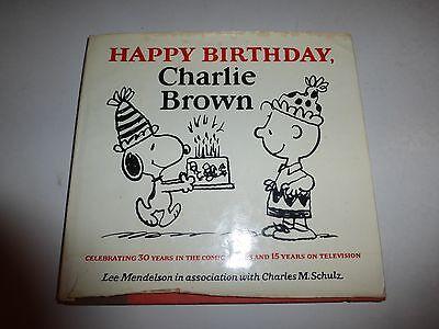 Happy Birthday, Charlie Brown - Charles M. Schulz - HC w/DJ 1st EDITION 1979 148 ()