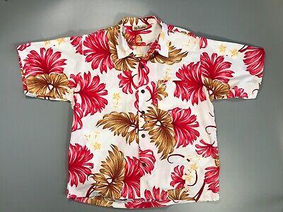 Mens Vintage Hawaiian Shirt by 'Mareko'. Size XL.Island Creations