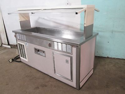 Delfield H.d. Commercial Refrigerated And Heated -hot Or Cold- Buffet Table