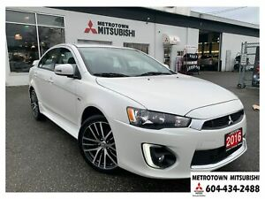 2016 Mitsubishi Lancer GTS; Local BC vehicle! Certified Pre-owne